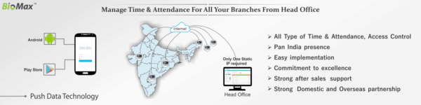 Biomax Multi Branch Attendance Solution