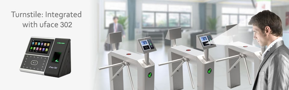 Turnstile Integrated with uface 302