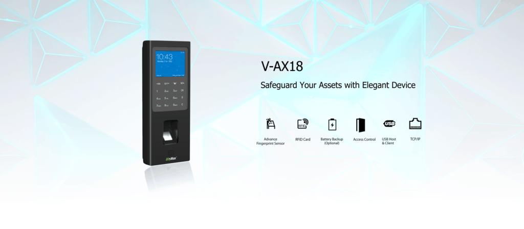 Biometric Attendance System Biomax V-AX18