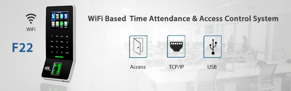 Biometric Time Attendance Machine eSSL F22