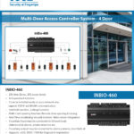 Access Control System InBio460 Multidoor Controller