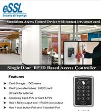 eSSL Sa 2 Stand Alone RFID Password Access Control System