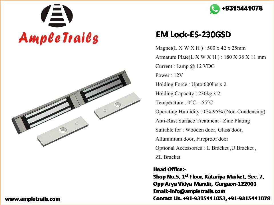 Double Door EM Lock