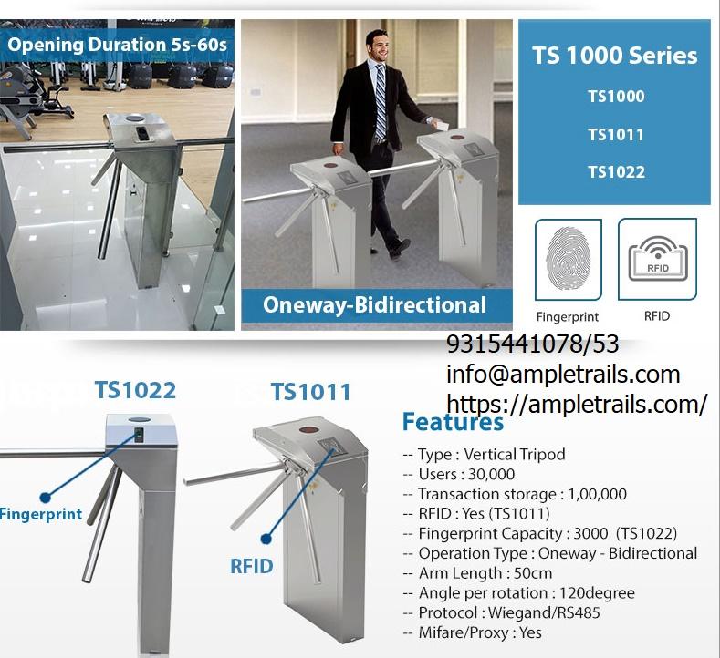 Turnstile Fingerprint RFID eSSL TS1000-Series