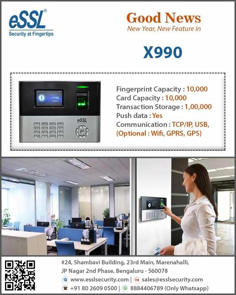 eSSL X990 New
