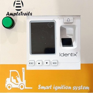 Forklift Vehicle Access Control System