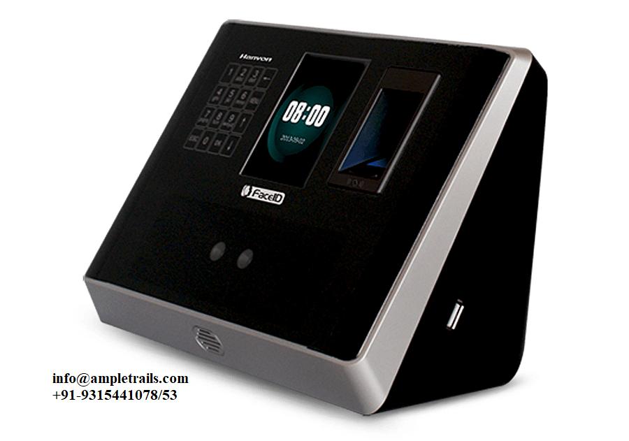 Face Fingerprint Detection Time Attendance Machine