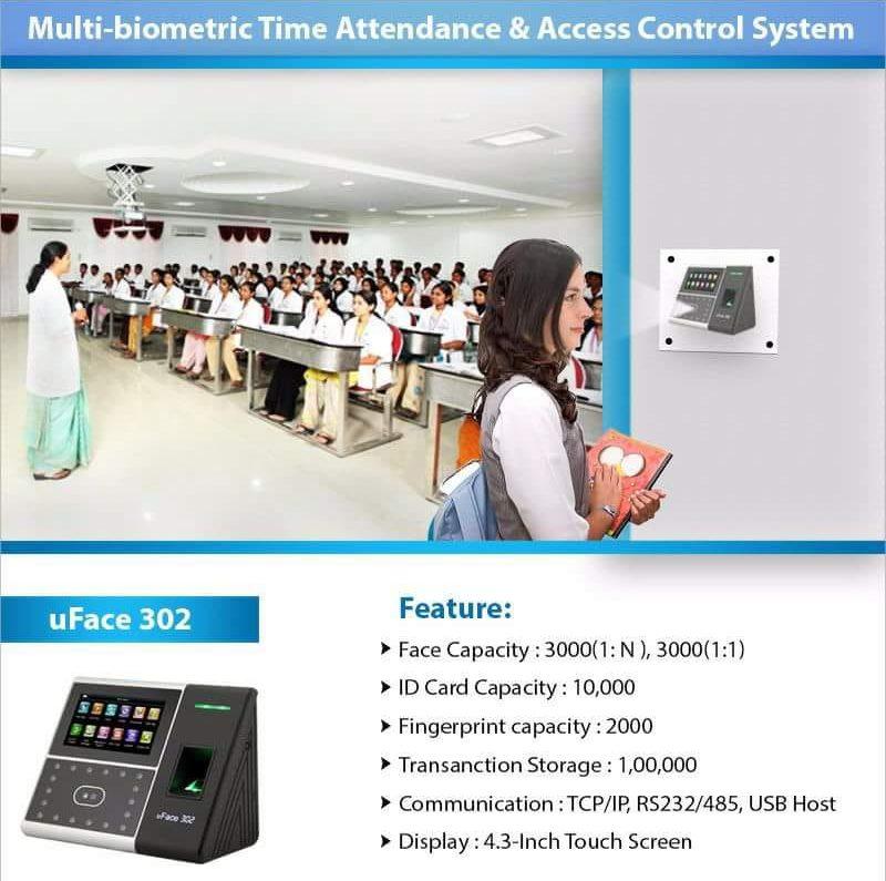 ESSL Biometrics UFACE-302 Online in India at Best Prices