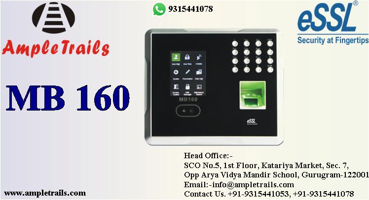 MB160 Face Fingerprint Battery 3G