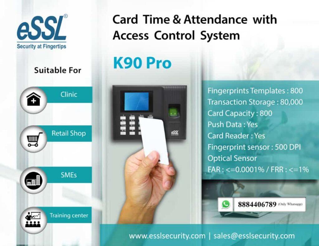 eSSL K90 Biometric Attendance Machine